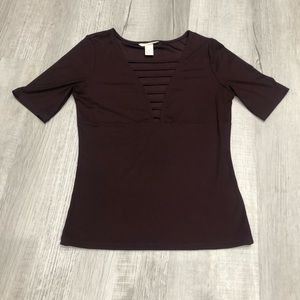 H&M strappy ribbed top